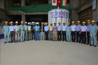Hạ thành công rotor máy phát - Dự án mở rộng Nhà máy Thuỷ điện Đa Nhim